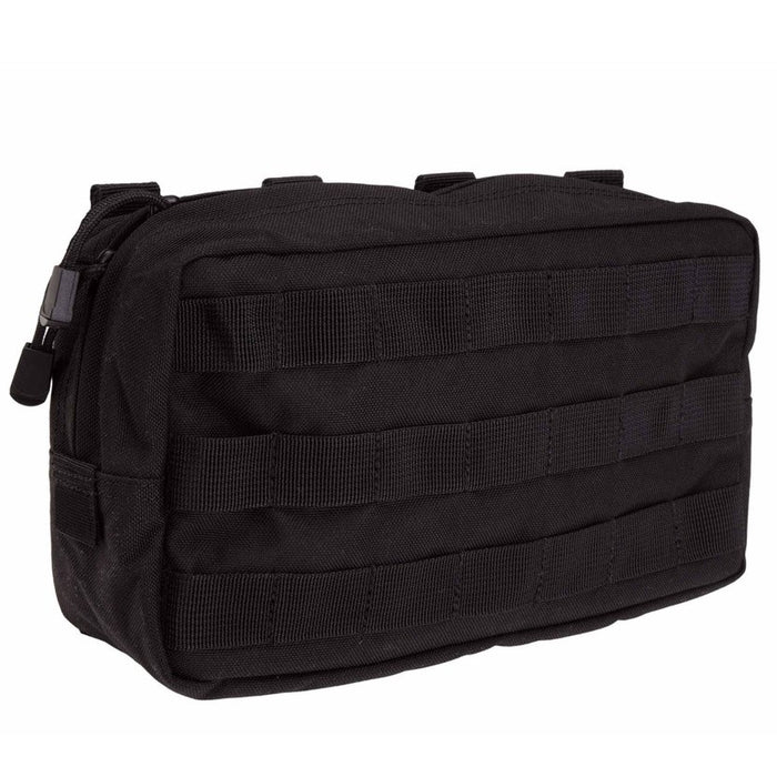 10 X 6 HORIZONTAL POUCH , Black