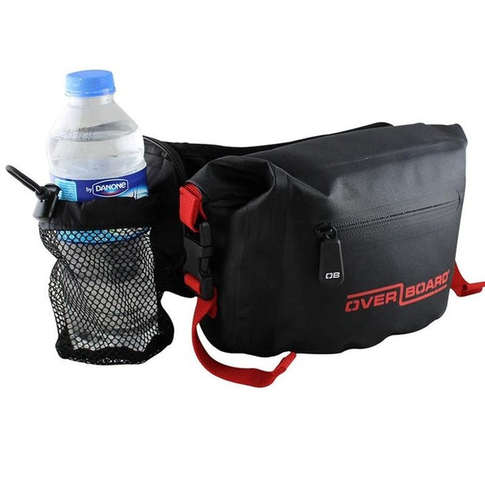 Waterproof Waist Pack - 2 Litre , Red