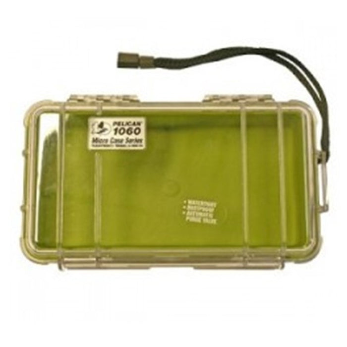 PELICAN CLEAR COVER 1060 MICRO CASE , Green
