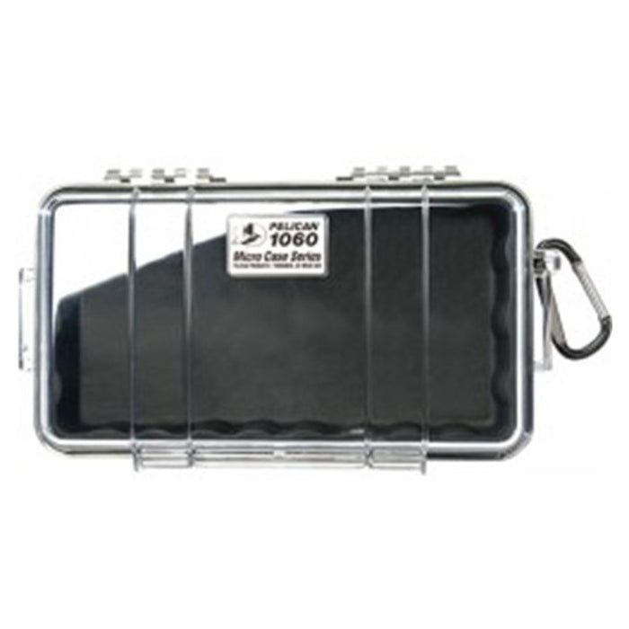 PELICAN CLEAR COVER 1060 MICRO CASE , Black