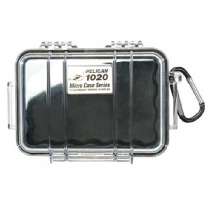 PELICAN CLEAR COVER 1020 MICRO CASE , Black