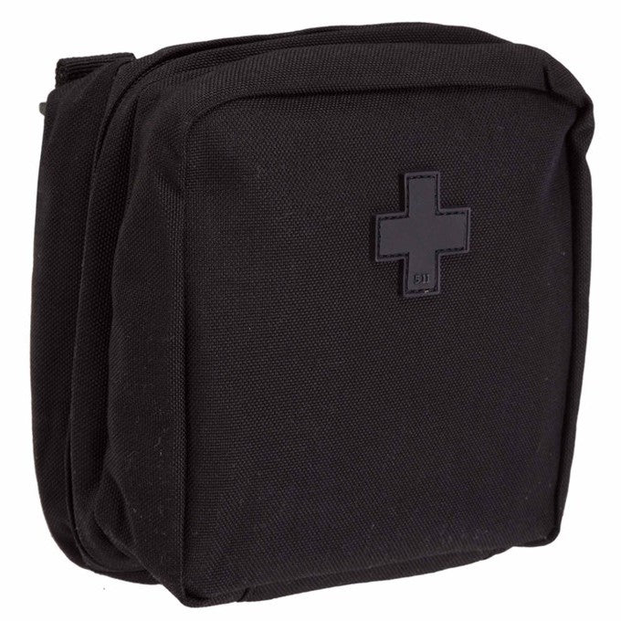 6 X 6 MED POUCH , Black.