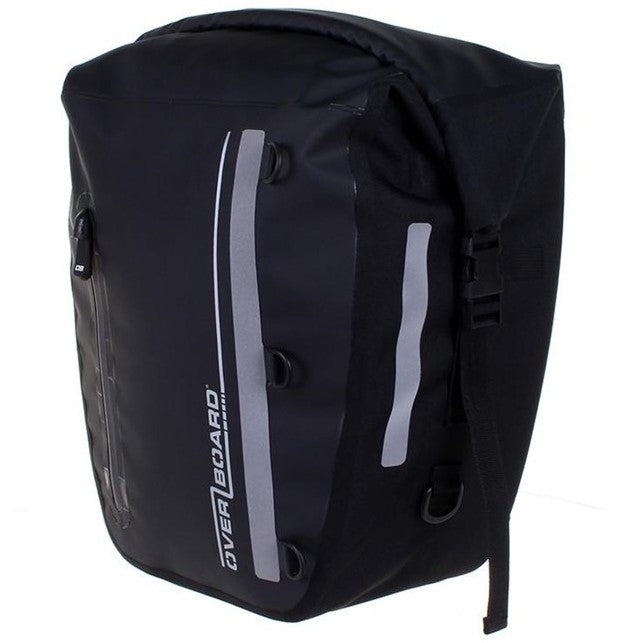 Classic Waterproof Bike Pannier - 17 Litres , Black