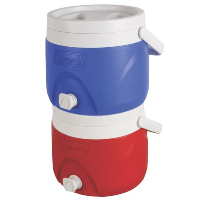 2 Gallon Party Stacker™ Beverage Cooler , Blue