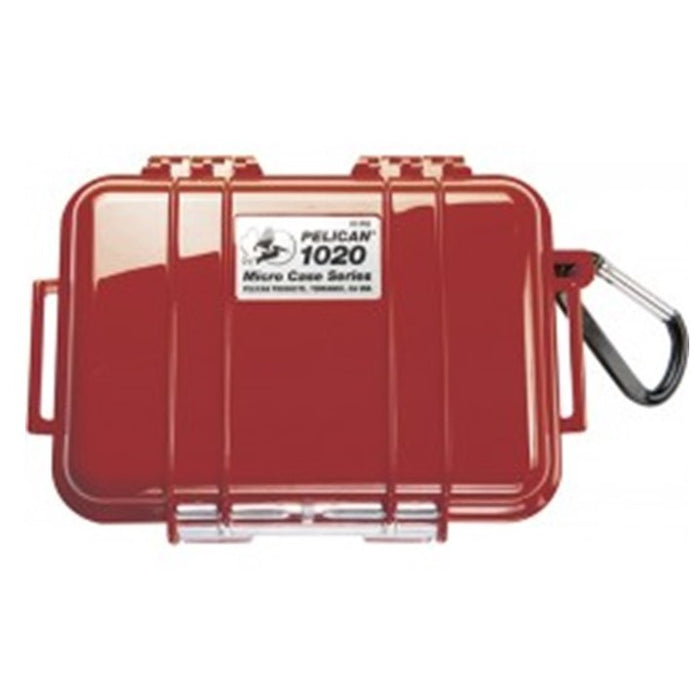 PELICAN SOLID COVER 1020 MICRO CASE , Red