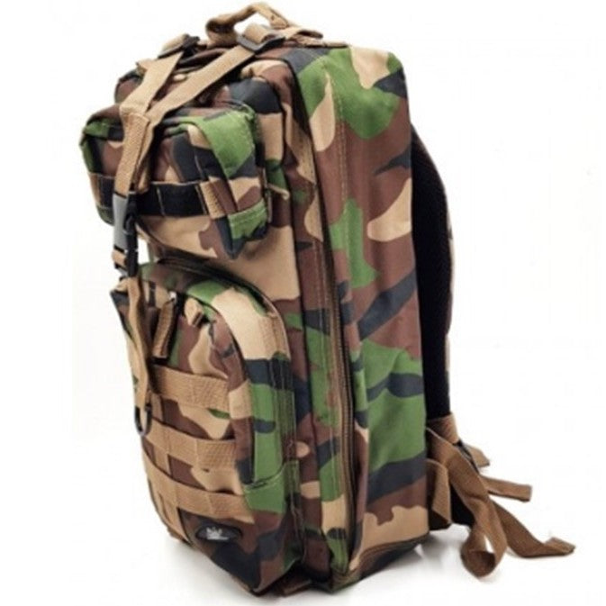 BAG, ASSUALT BACKPACK D&G 2256 , Malaysia Vintage Army Camo.