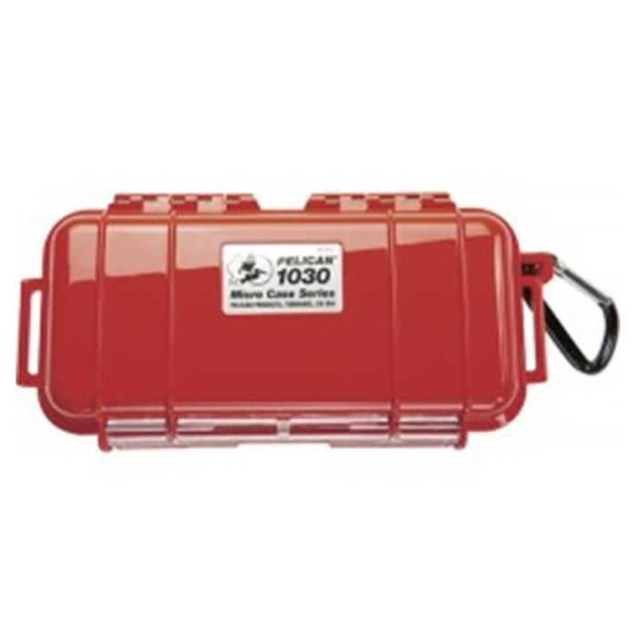 PELICAN 1030 MICRO CASE BLACK SOLID , Red