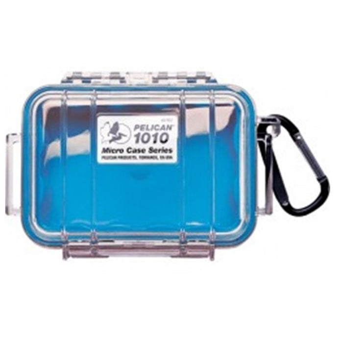 PELICAN CLEAR COVER 1010 MICRO CASE , Blue