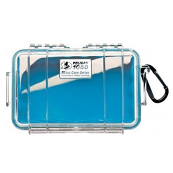 PELICAN CLEAR COVER 1050 MICRO CASE , Blue