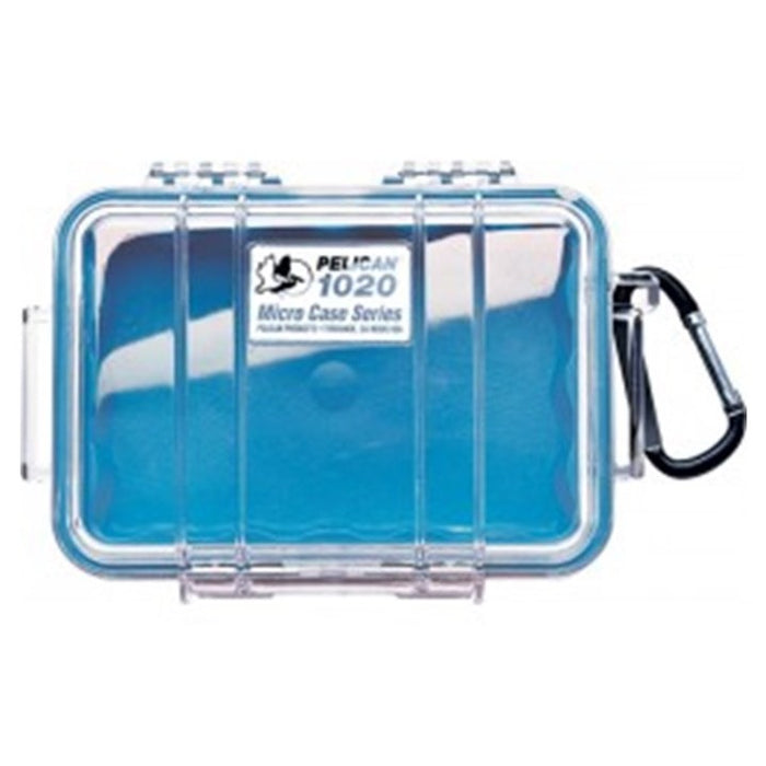 PELICAN CLEAR COVER 1020 MICRO CASE , Blue