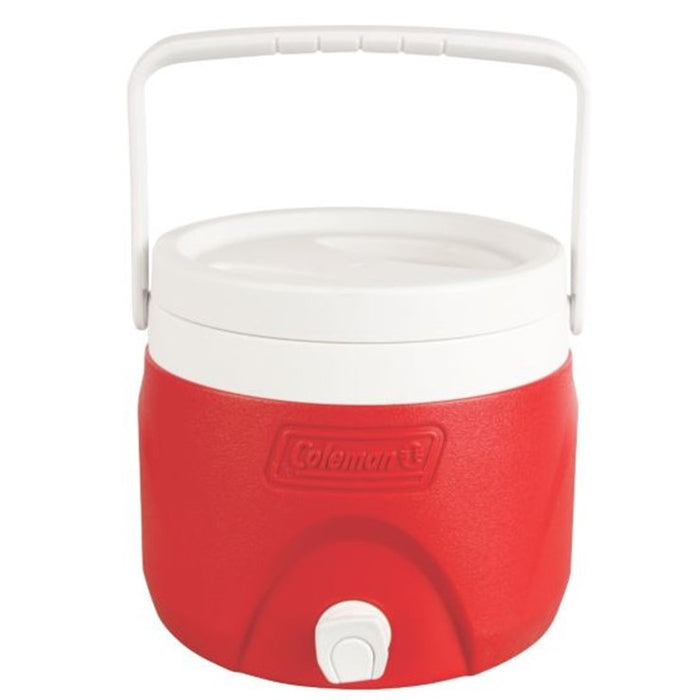 2 Gallon Party Stacker™ Beverage Cooler , Red