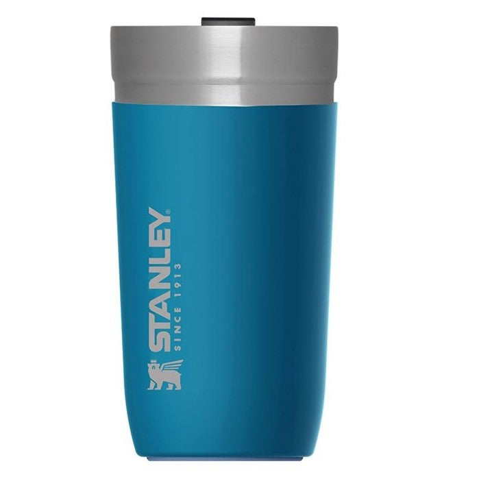 GO Series Vacuum Tumbler 470ml Hot Cold Insulated Thermos , Nordic Blue