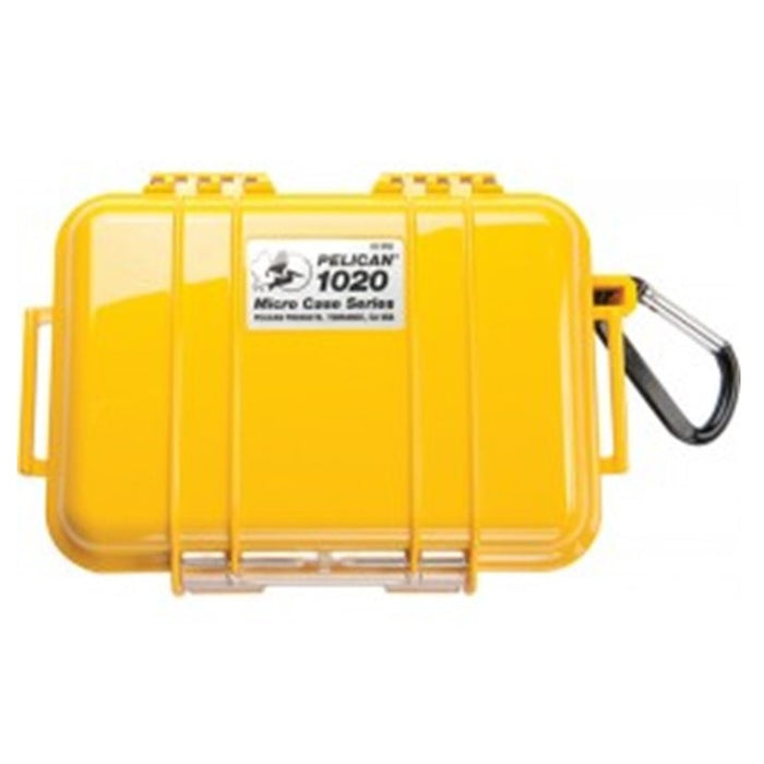 PELICAN SOLID COVER 1020 MICRO CASE , Yellow
