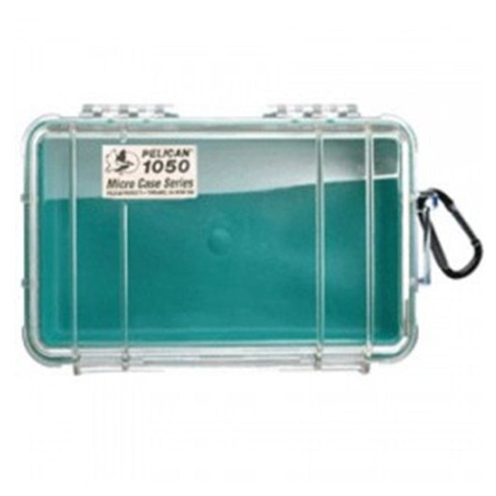 PELICAN CLEAR COVER 1050 MICRO CASE , Green