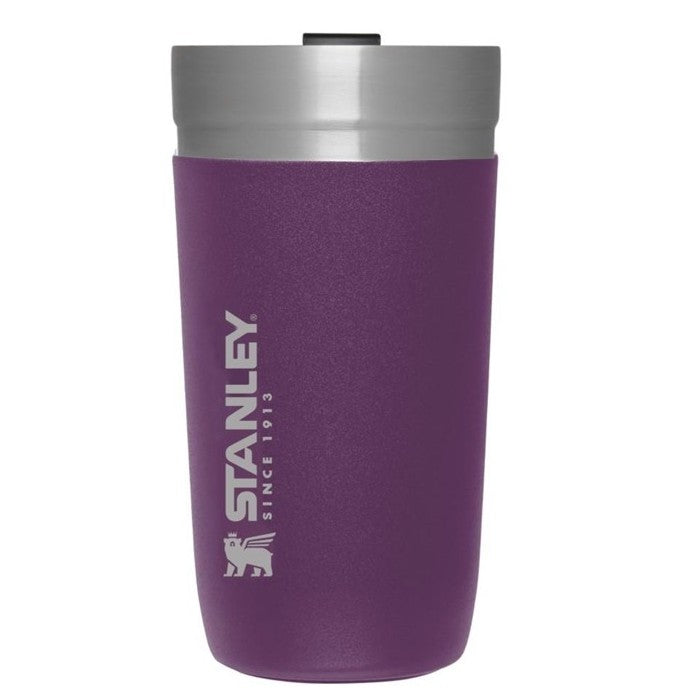 GO Series Vacuum Tumbler 470ml Hot Cold Insulated Thermos , Berry
