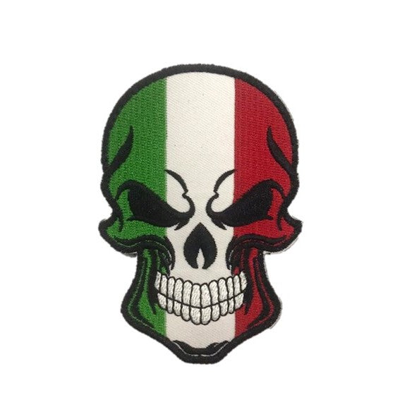 ITALY Skull Embroidery Patch