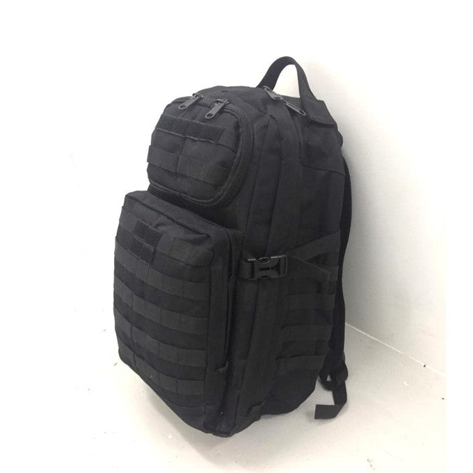 Military Rush Advance Backpack, Black