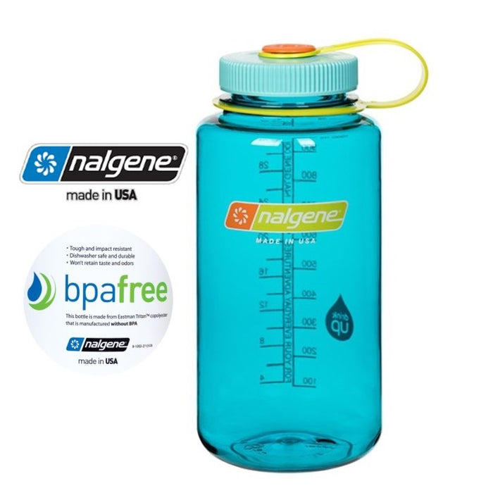 Nalgene 32oz Wide mouth 1000ml Cerulean