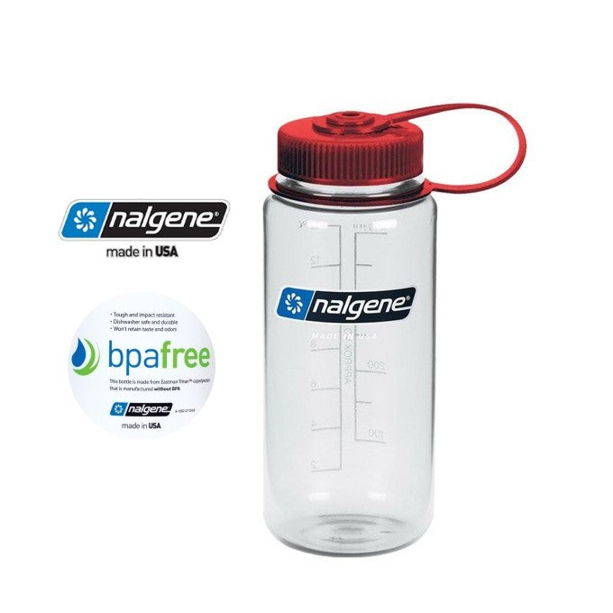 Nalgene 16oz Wide mouth 500ml Clear