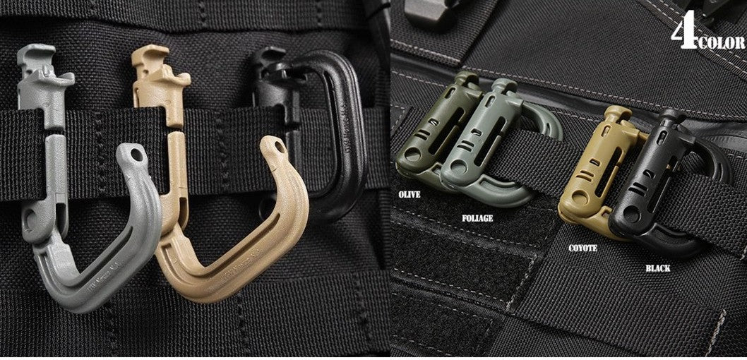 D Biner, Tactical Military Molle Clip