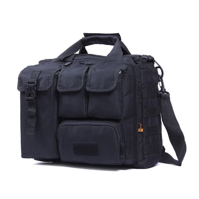 Military Molle Document Bag, Black