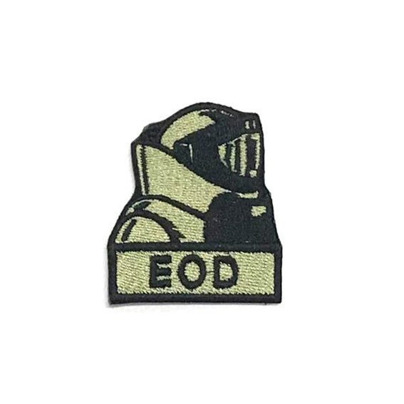 EOD Suit Patch, Olive Green