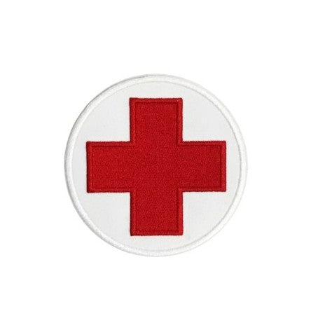 First Aid Round Patch