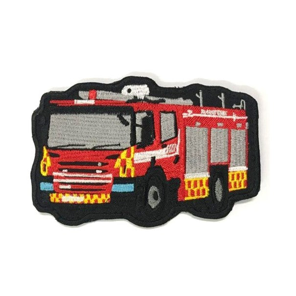 Fire Engine Vehicle Patch