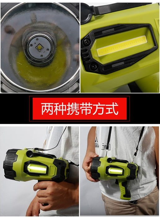 Hand Light HY-7006, Moss Green