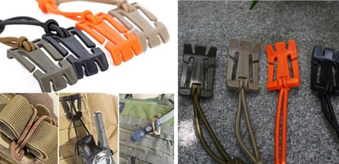 Military MOLLE Webbing Hang Buckle Clip