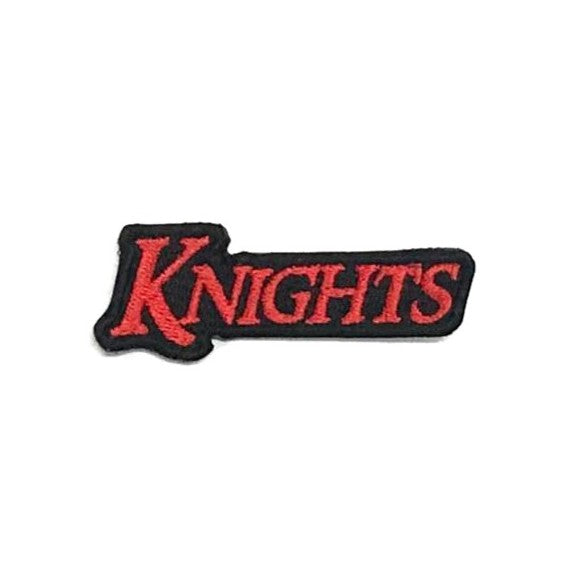 Knights Wording Patch, Red