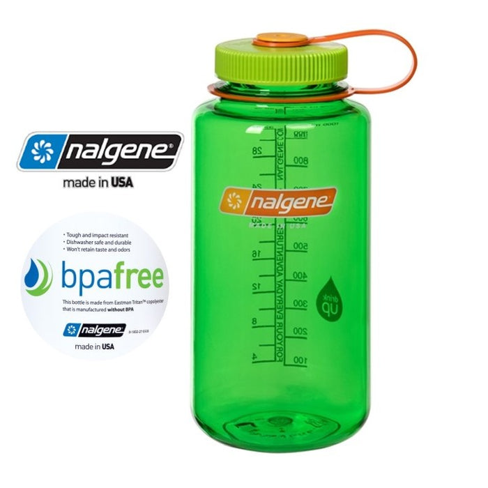 Nalgene 32oz Wide mouth 1000ml Melon Ball
