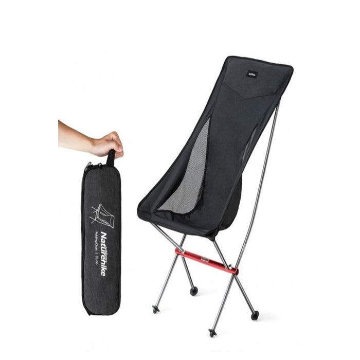 YL06 Alu Folding Moon Chair , Grey