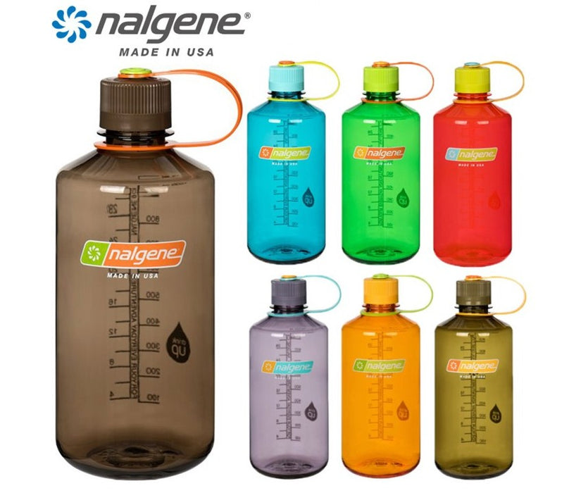 Nalgene 32oz Narrow Mouth 1000ml Safety Yellow