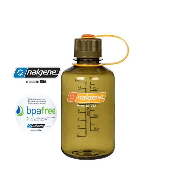 Nalgene 16oz Narrow Mouth 500ml Olive