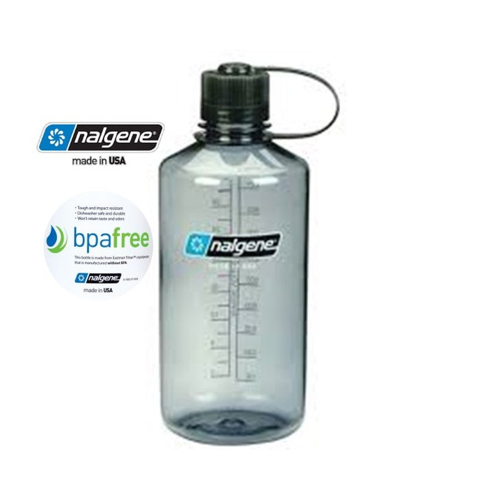 Nalgene 32oz Narrow Mouth 1000ml Gray