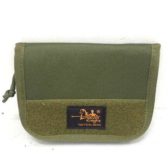 Pocket Organizer Zipper Pouch Military, Army Green