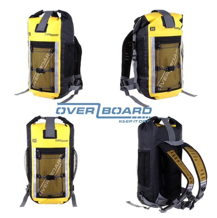 Pro-Sports Waterproof Backpack 20L, OverBoard, Yellow,
