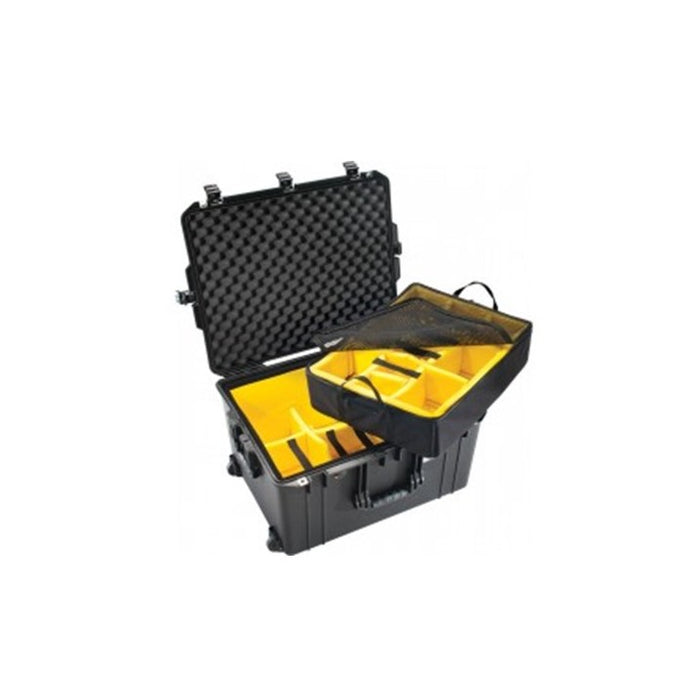 PELICAN 1637AIRWD W/DIVIDERS, BLACK
