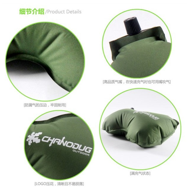 Air Pillow, Bony Moss Green