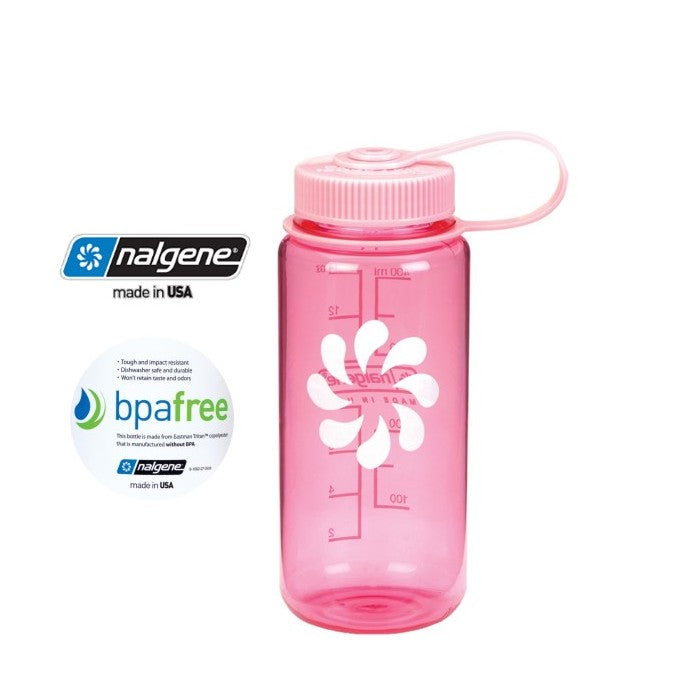 Nalgene 16oz Wide mouth 500ml Pink