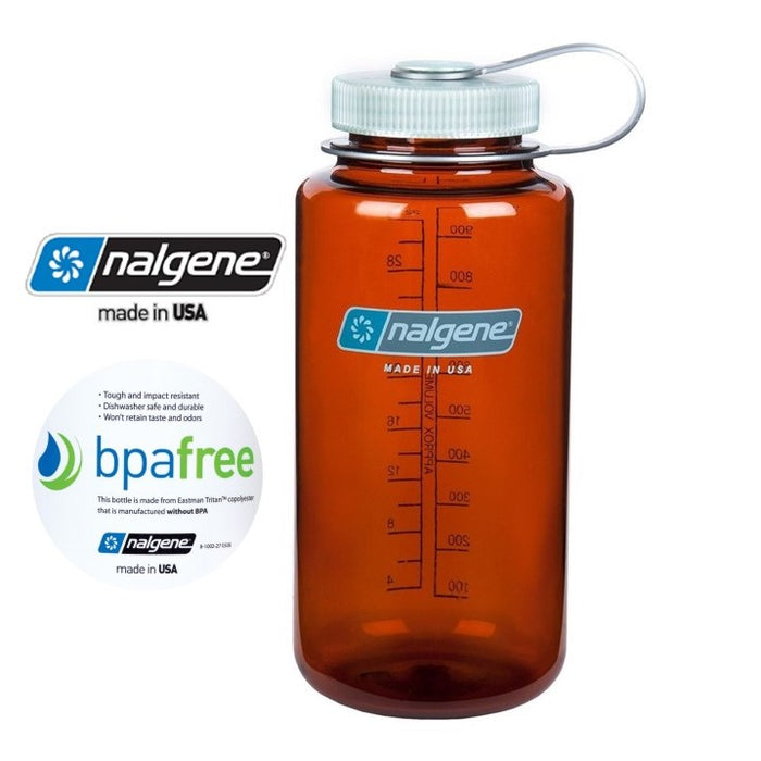 Nalgene 32oz Wide mouth 1000ml Rustic Orange