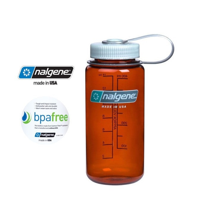Nalgene 16oz Wide mouth 500ml Rustic Orange