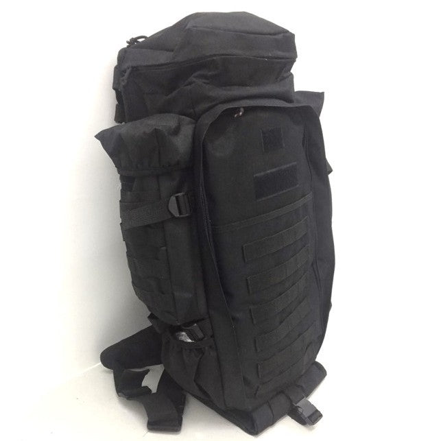 Tactical Molle Dual Rifle Backpack, Black