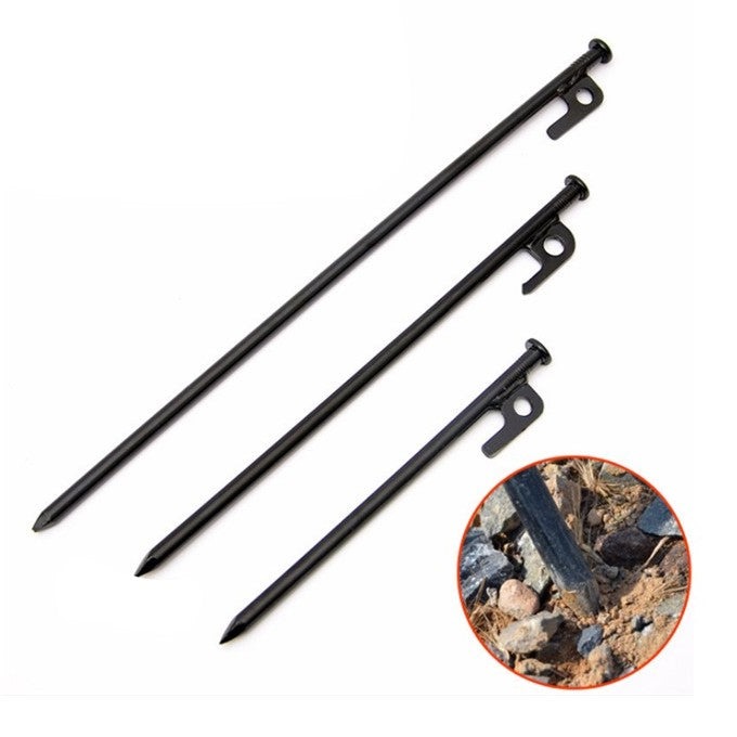 Black Tent Pack , Tent Pins