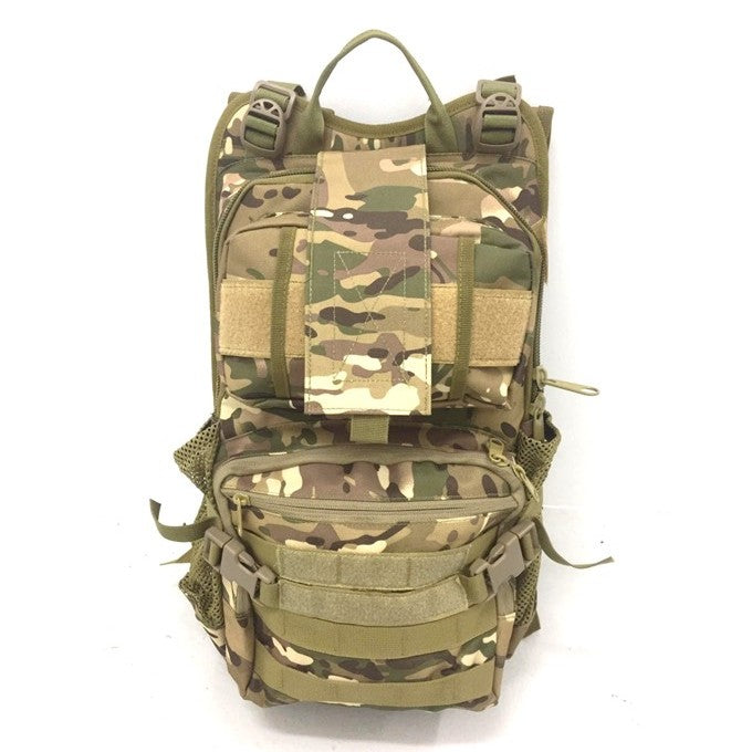 Military Inspired Backpack Multi Cam
