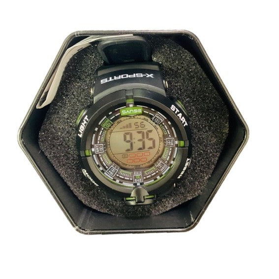 HOUR2 SUN GRADE MOSS X-Sports Digital Watch