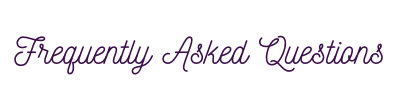 FAQ Title Banner Plus Size Swimdress Boutique