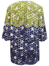 Load image into Gallery viewer, GREEN Pure Cotton Stud Embellished Top - Plus Size 16/18 to 28/30