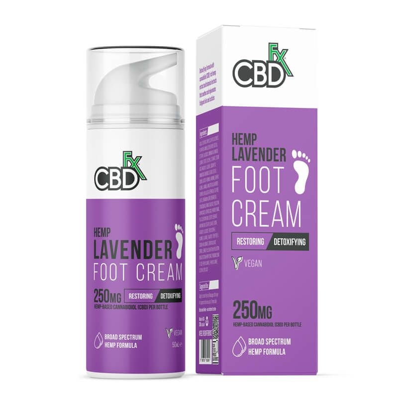 CBDfx - Hemp Lavender Foot Cream